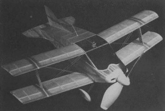Sorrel Hiperbipe model airplane plan