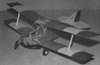 Sorrell Hiperlight model airplane plan