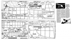 Sparrow 2 model airplane plan