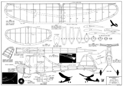 Spearhead Junior model airplane plan