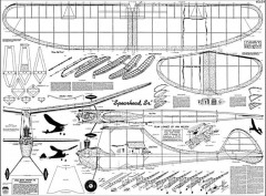 Spearhead S model airplane plan
