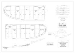 Spearpoint model airplane plan