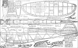 Spectre 1942 model airplane plan
