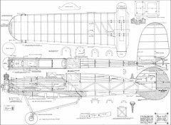 Speed Craft model airplane plan