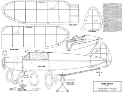 Speed Demon-Hobby Models Mfg model airplane plan