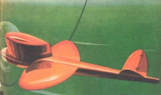 Speed Wagon model airplane plan