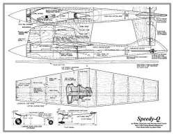 Speedy-Q Plan model airplane plan