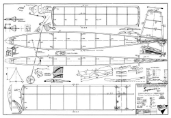 Sperwer 50 model airplane plan