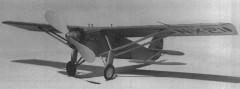 Spirit Of Louis model airplane plan