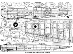 Spitfire Stunter model airplane plan