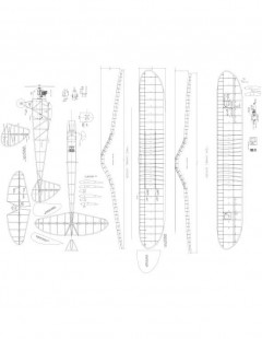Spook-72 Model 1 model airplane plan