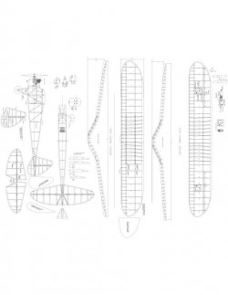 Spook-72 Model 1 model airplane plan