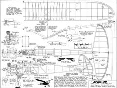 Spook 48-MB-09-73 model airplane plan