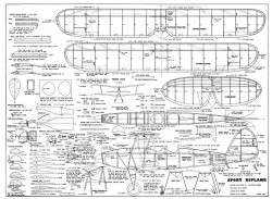 Sport-Bipe model airplane plan