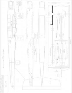 Sport 400 Model 1 model airplane plan
