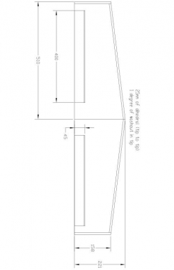 Sport Model 600- wing Model 1 model airplane plan