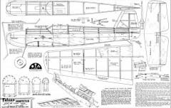 Sportster Falcon model airplane plan