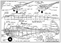 Sporty II plans model airplane plan