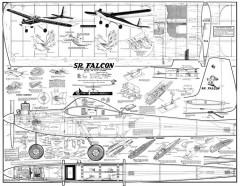 Sr Falcon 69in model airplane plan