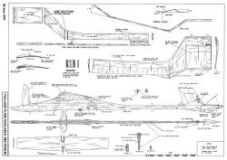 Stag-AAM-06-74 model airplane plan