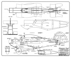 Stagger Bee model airplane plan