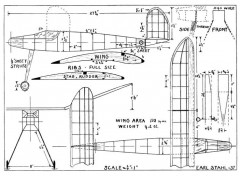 Stahl36 model airplane plan
