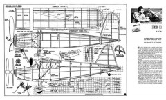 Stahl Stinson 125 model airplane plan