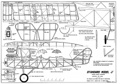 Standard Model J-Hurst-Bowers model airplane plan