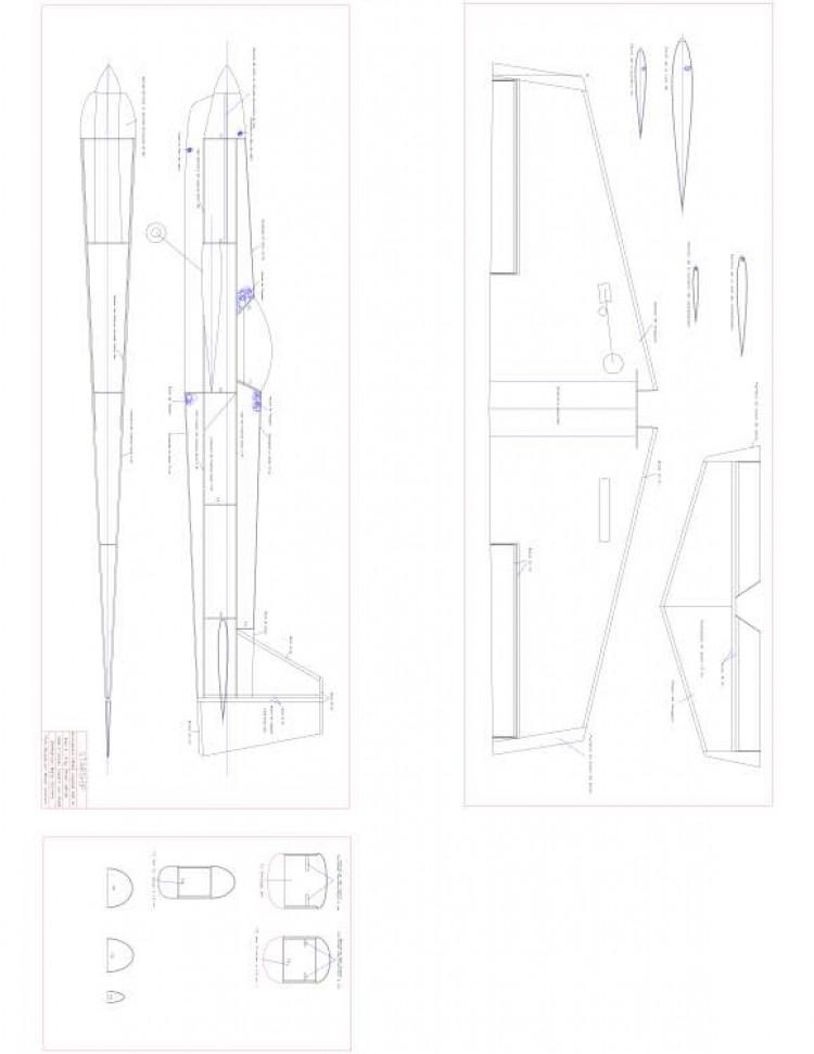 StarShip Model 1 model airplane plan