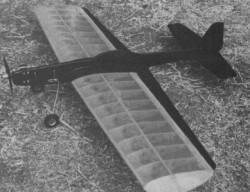 Star Interceptor model airplane plan