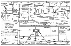 Starcrest model airplane plan