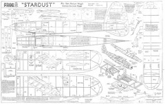 Stardust 3 model airplane plan
