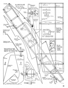 Stardust model airplane plan