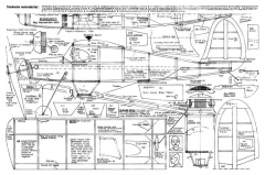 Starduster 20in model airplane plan