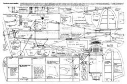 Starduster 20in model airplane plan