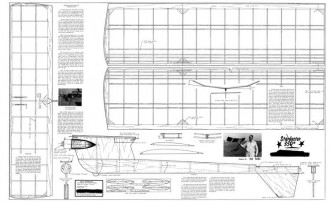 Starduster 350 model airplane plan