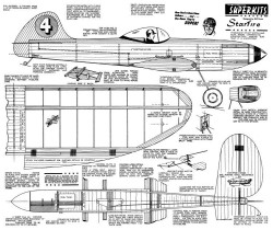 Starfire 2 model airplane plan