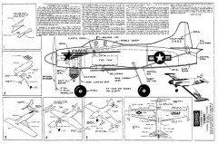Starfire model airplane plan