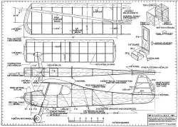 Starflight model airplane plan