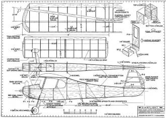 Starflight model airplane plan