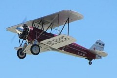 Stearman C3-R model airplane plan