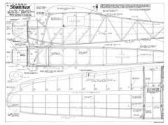 Stentorian 72in model airplane plan