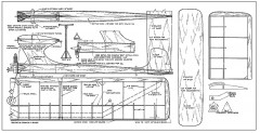 Stinger model airplane plan