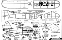 Stinson 105 model airplane plan