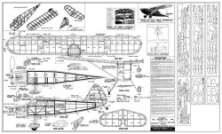 Stinson Voyager 150 model airplane plan