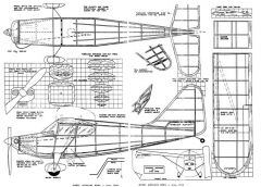 Stinson model airplane plan