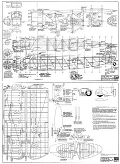 Stinson Airliner FSI clean model airplane plan