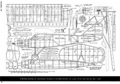 Stinson Detroiter-Air-Trails-12-49 model airplane plan