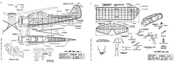 Stinson O-49 MAN 02-50 model airplane plan
