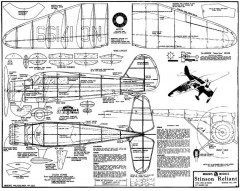Stinson Reliant 23in model airplane plan